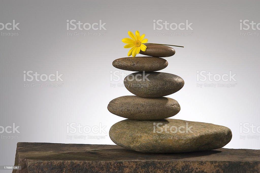 Equilibrio vida útil foto de stock libre de derechos