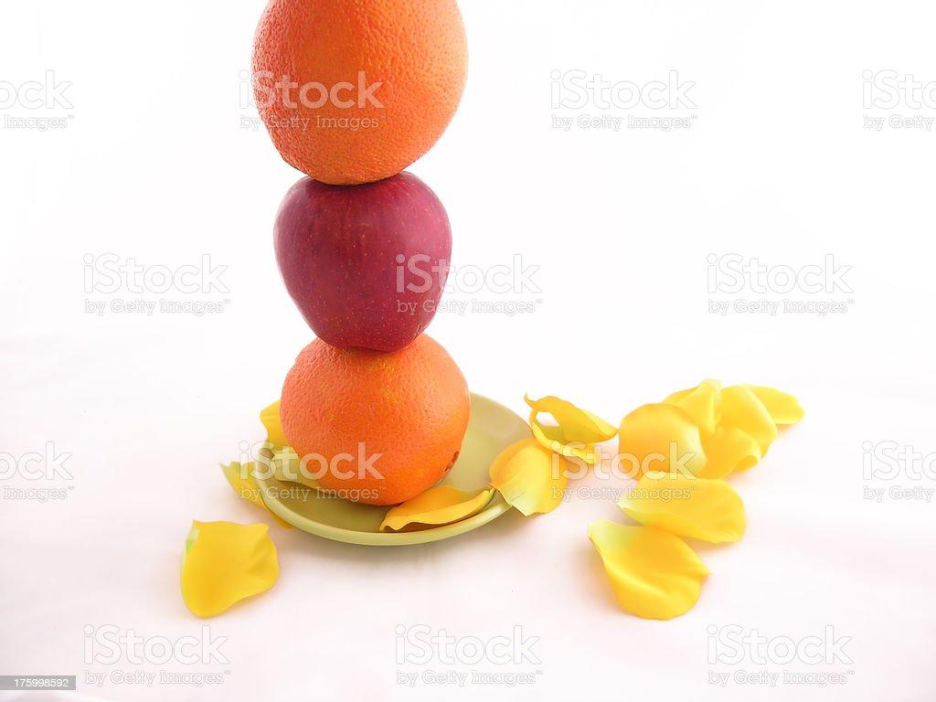 Balanced nutrition royalty-free stock photo