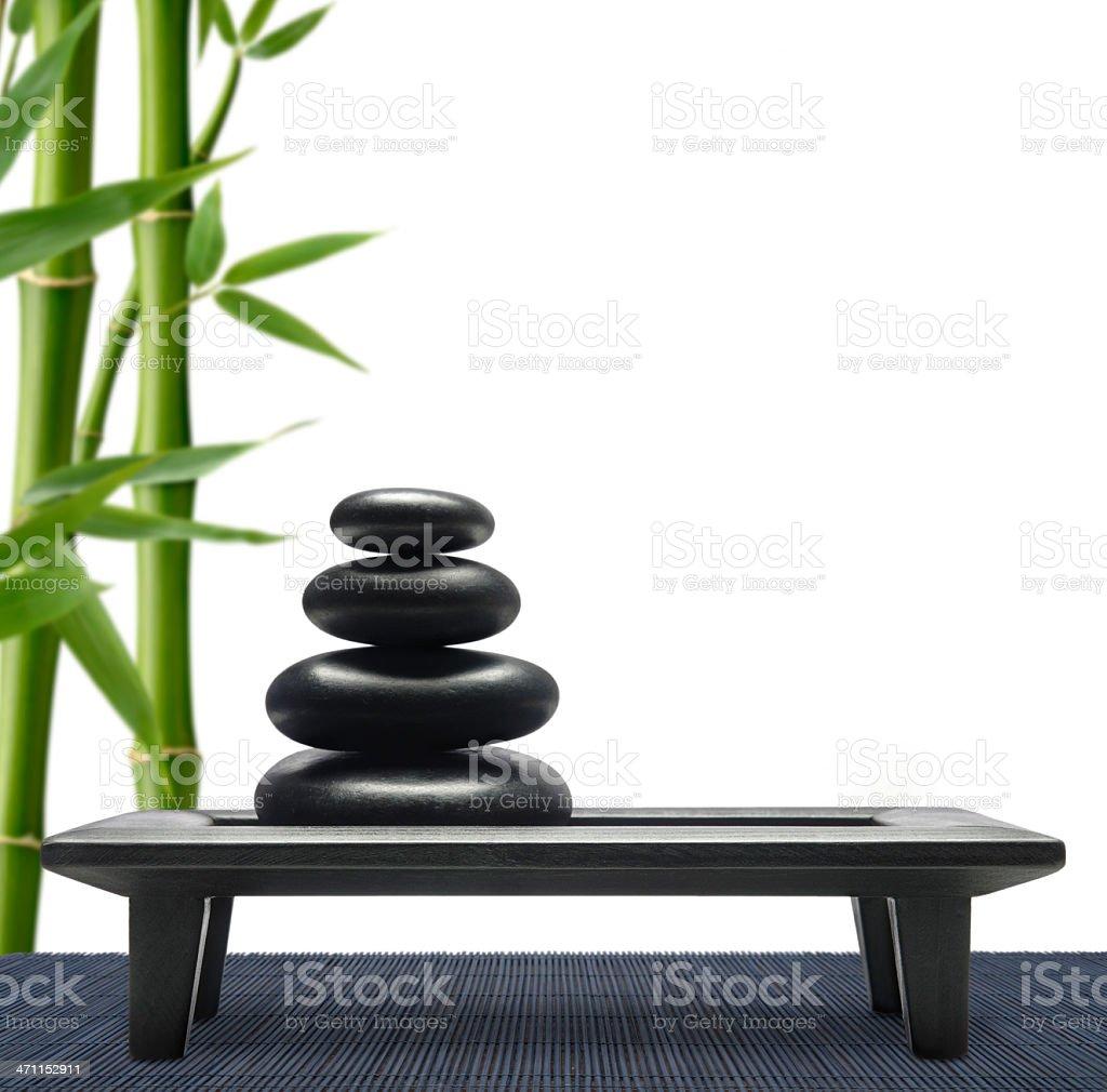 Balanced Pebbles royalty-free stock photo