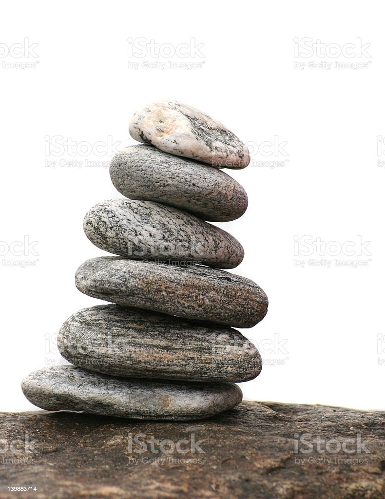 Balanced royalty-free stock photo