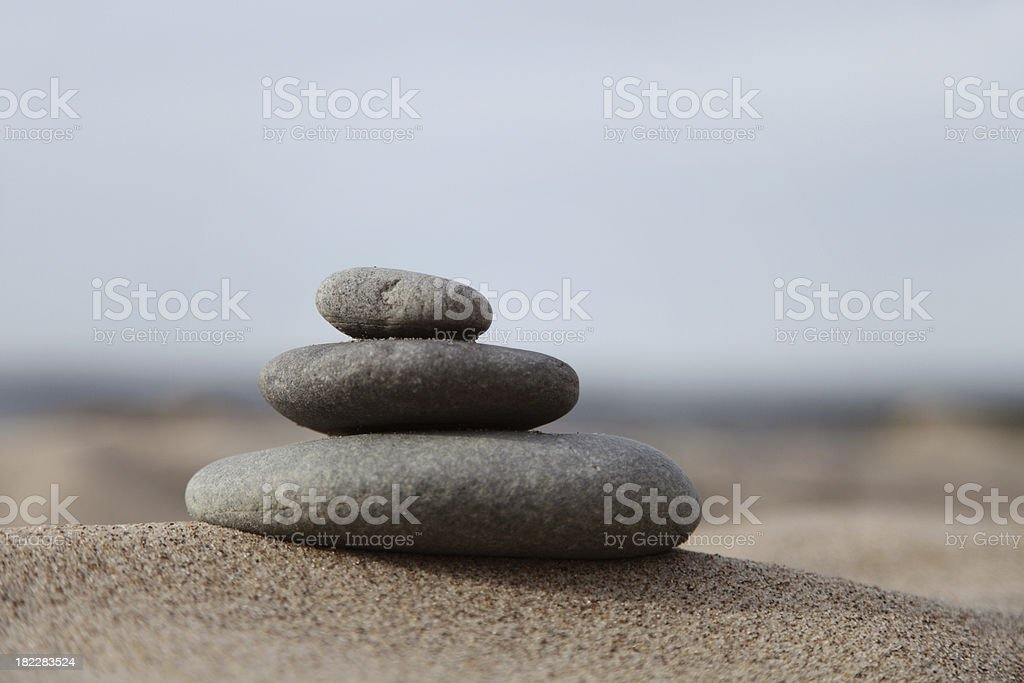 Balanced royalty-free stock photo