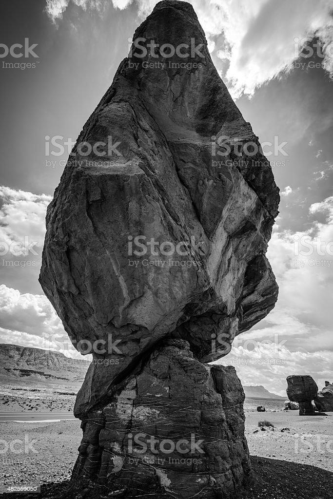 Balanced Rock Lees Ferry Coconino County Arizona stock photo