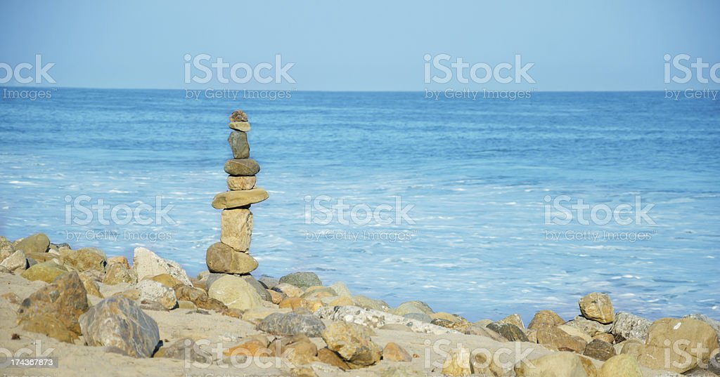Balanced rocks royalty-free stock photo