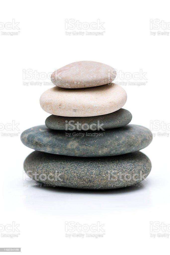 Balanced stones i royalty-free stock photo
