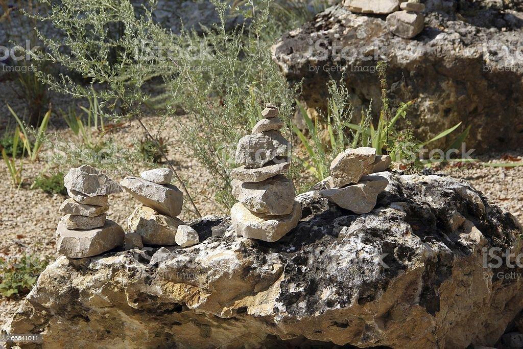Balanced stones royalty-free stock photo