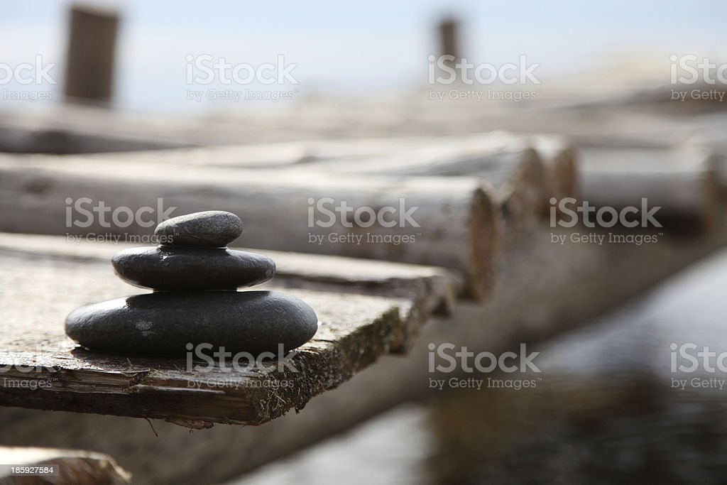 Balanced stones - Stock Image royalty-free stock photo