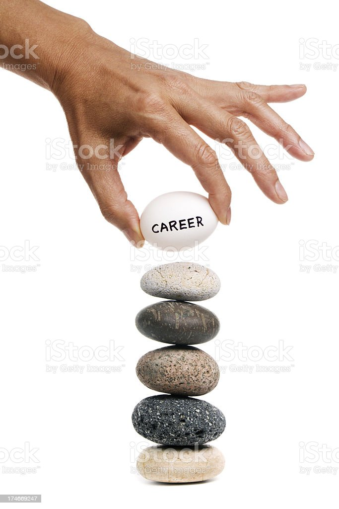Balancing Act - Career royalty-free stock photo