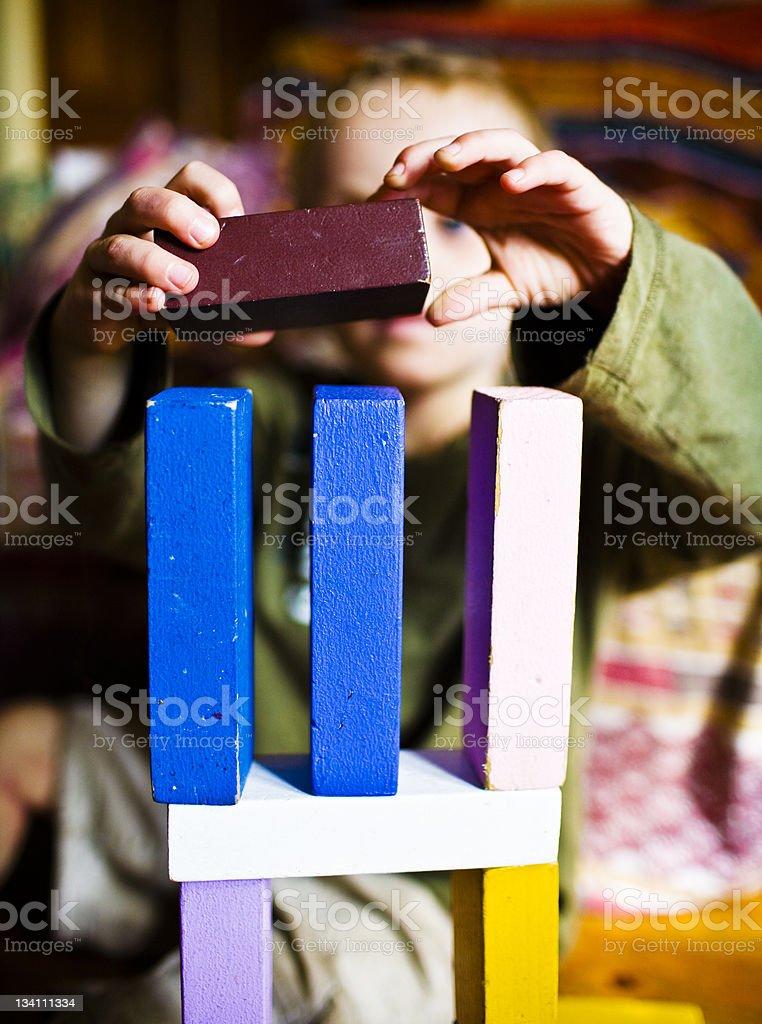Balancing act (series) royalty-free stock photo