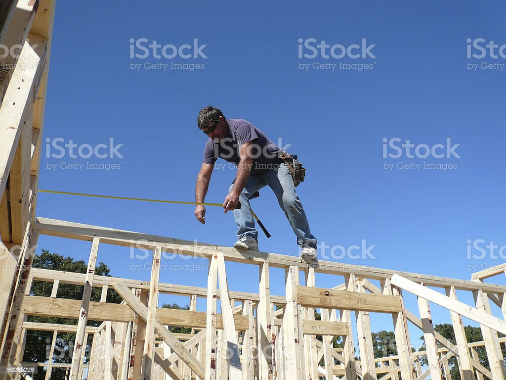 Balancing Act stock photo