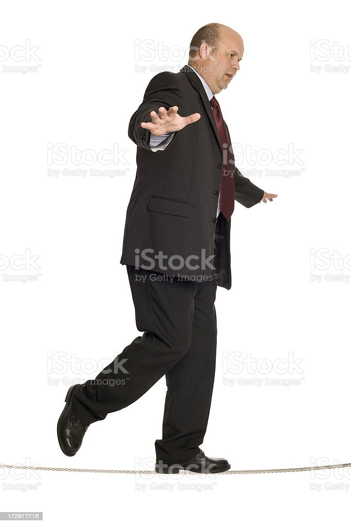 Balancing Business stock photo