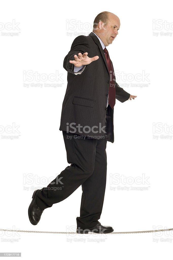 Balancing Business stock photo