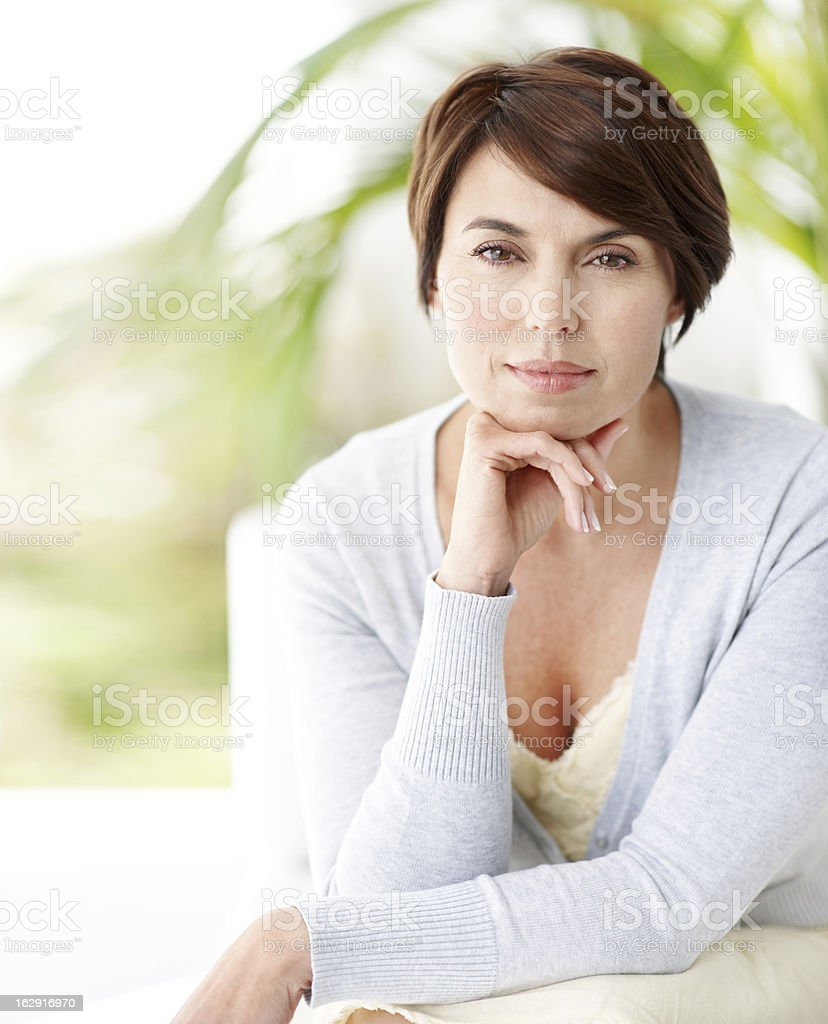 Balancing modern life with grace royalty-free stock photo
