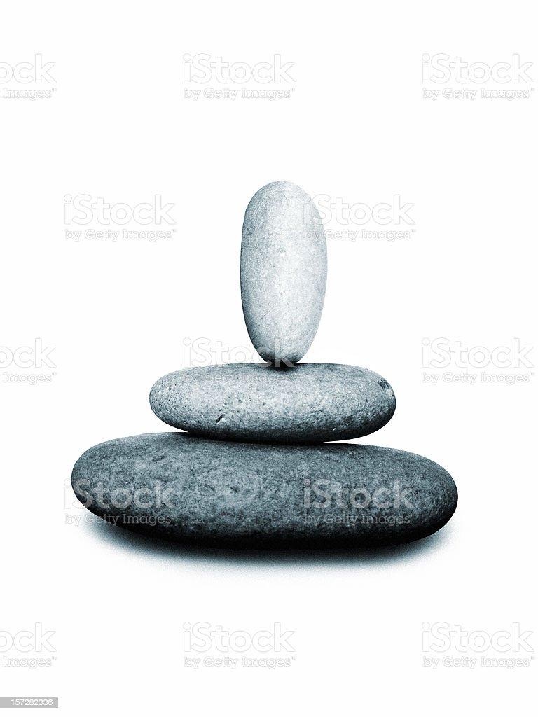 balancing... royalty-free stock photo
