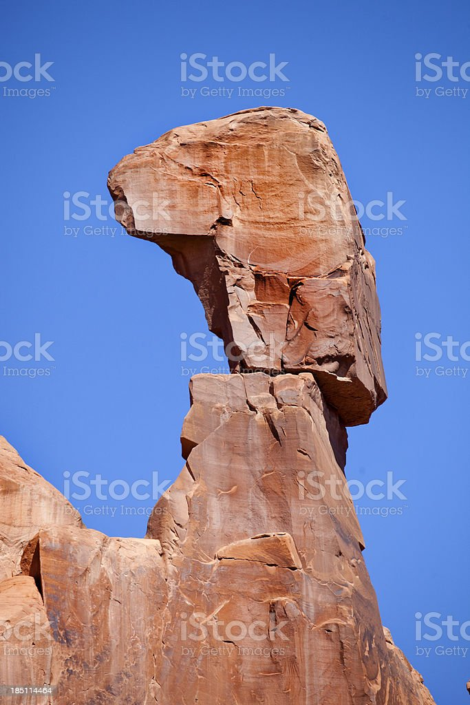 Balancing Rock stock photo