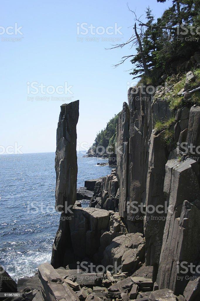 Balancing Rock royalty-free stock photo