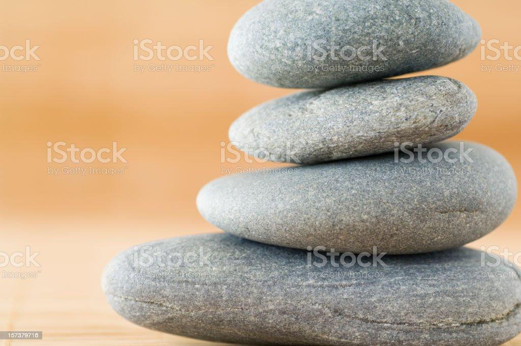 Balancing Stones (Detail) royalty-free stock photo