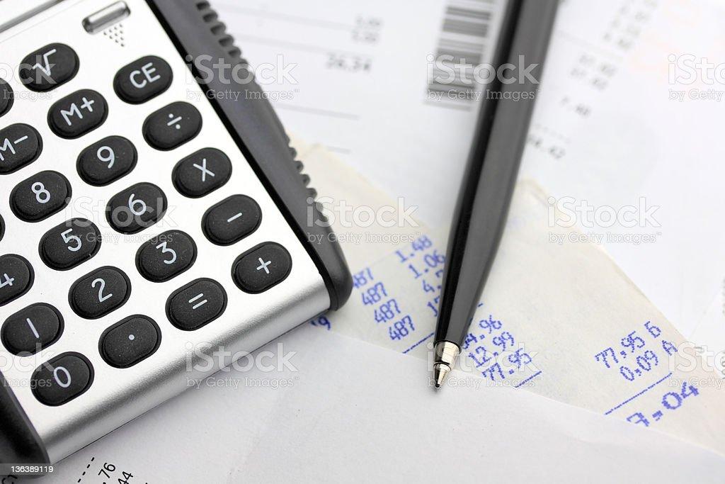 Balancing the Accounts royalty-free stock photo