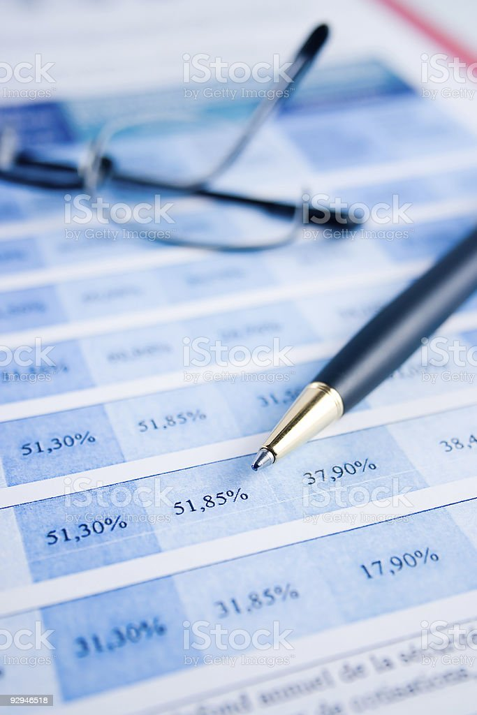 Balancing the Accounts royalty-free stock photo