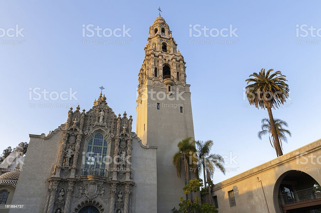 Balboa Park, San Diego royalty-free stock photo