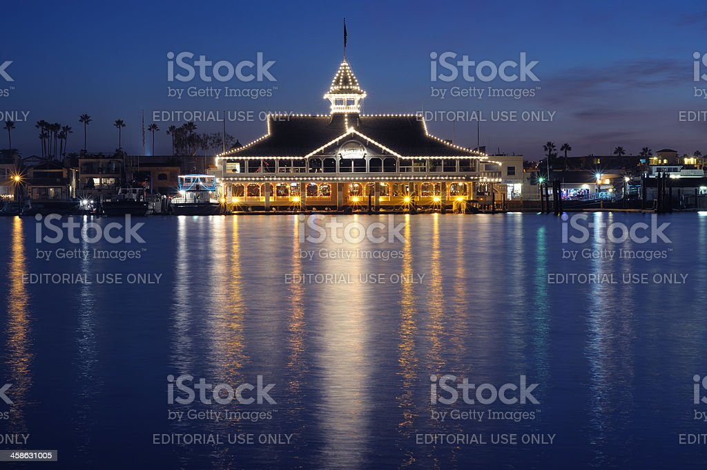 Balboa Pavilion stock photo