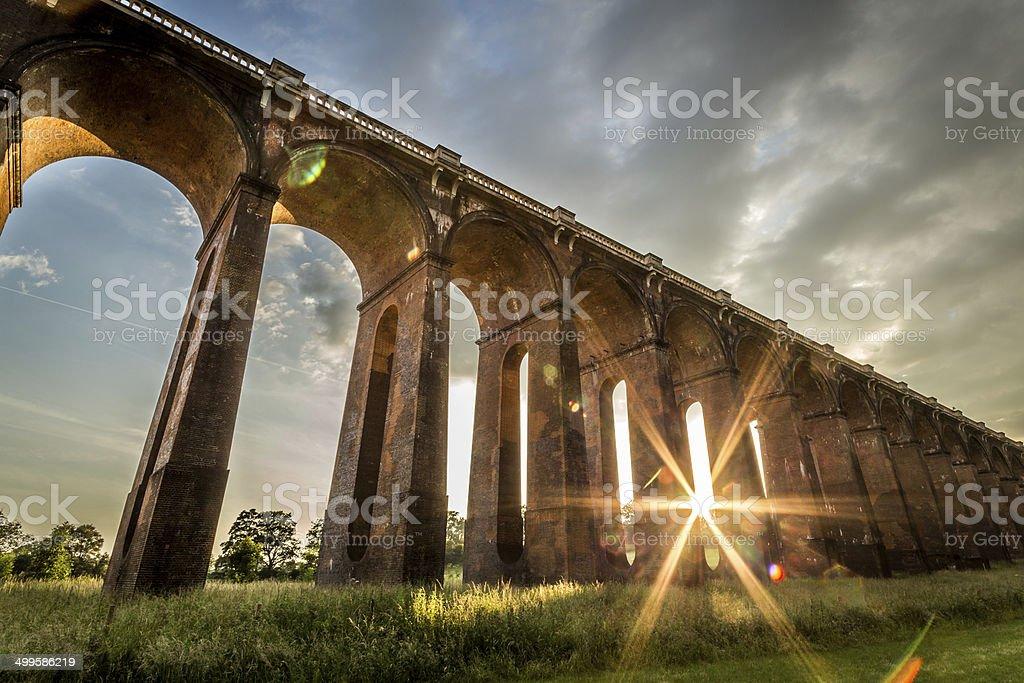 Balcombe Viaduct stock photo
