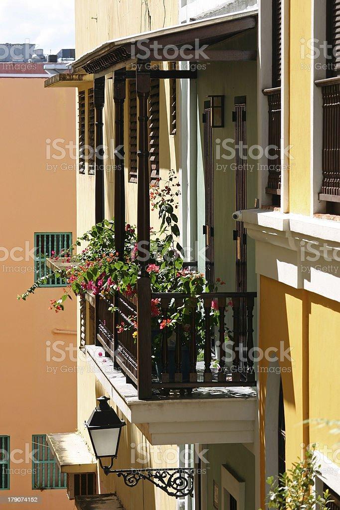 Balcony 3 royalty-free stock photo