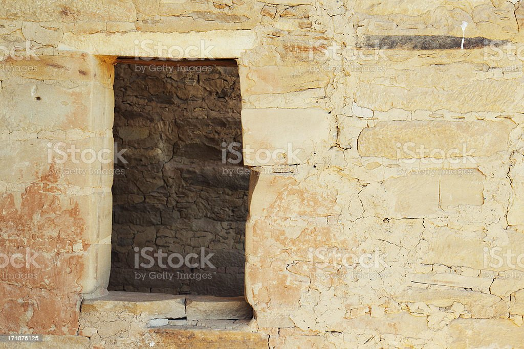 Balcony House Ruins - Mesa Verde National Park, Colorado stock photo