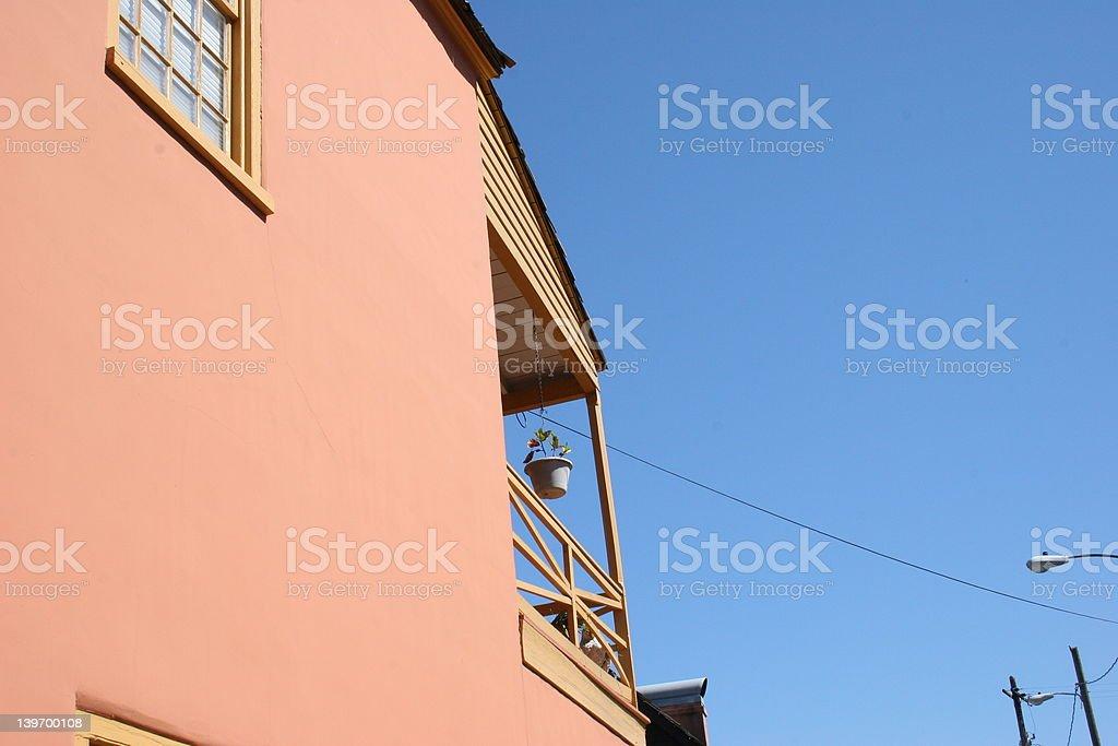 Balcón foto de stock libre de derechos
