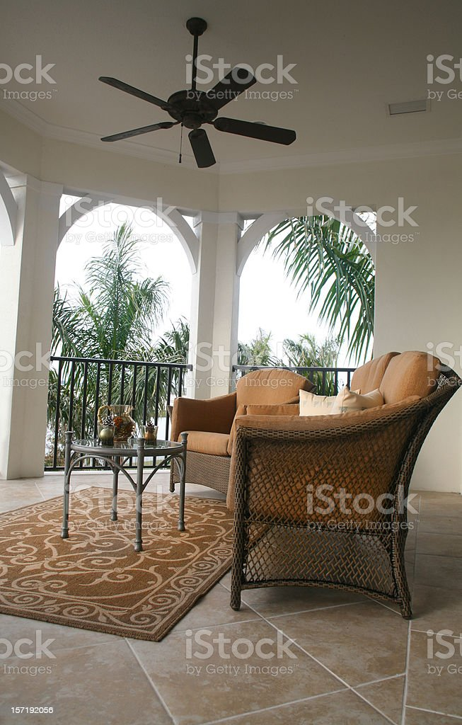 Balcony royalty-free stock photo