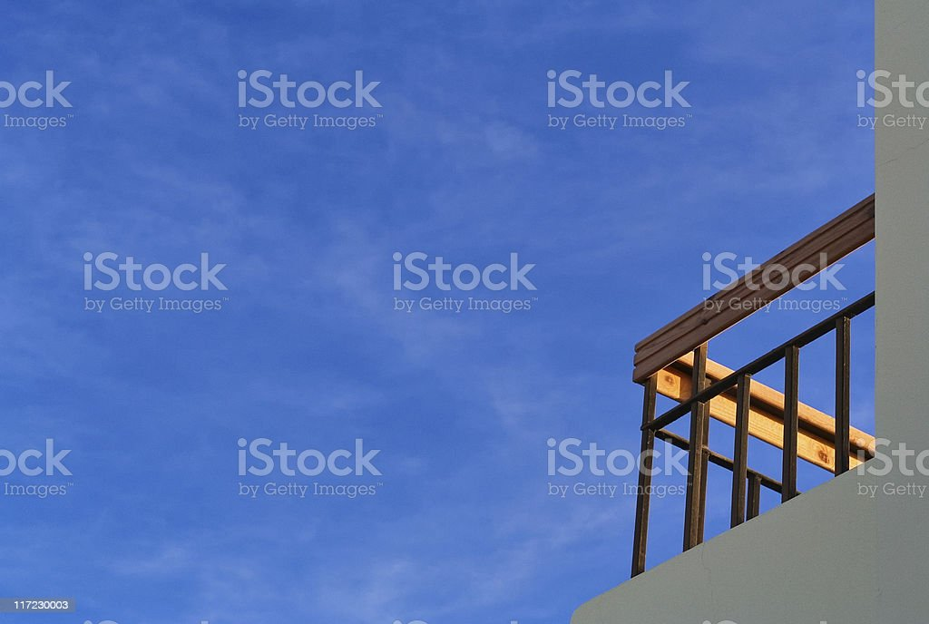 Balcony Sky royalty-free stock photo