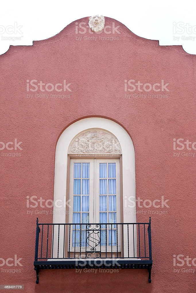 Balcony Spanish Style stock photo