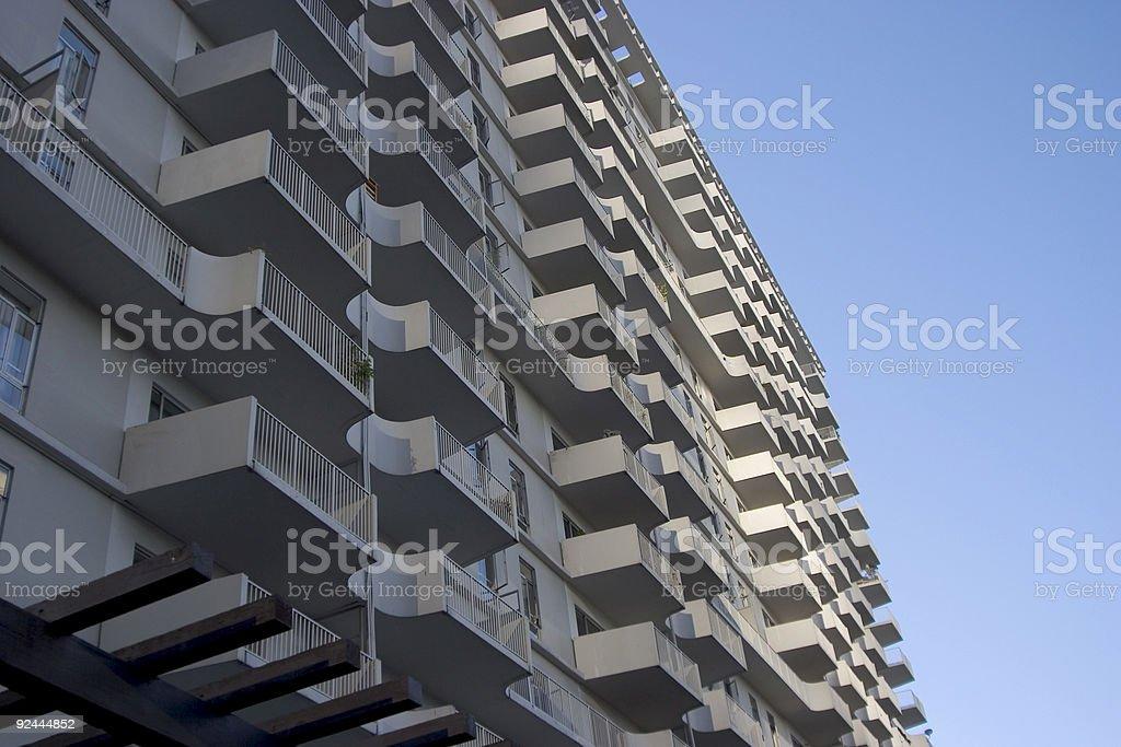 Balcony's royalty-free stock photo