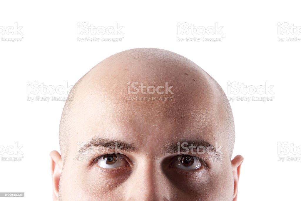Bald Head royalty-free stock photo
