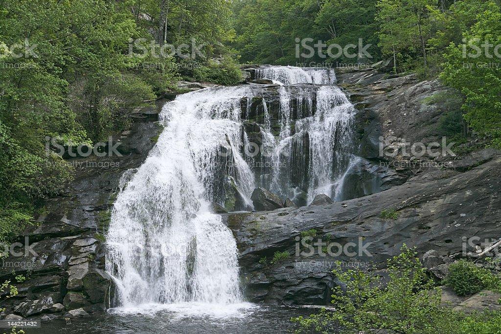 Bald River Falls royalty-free stock photo