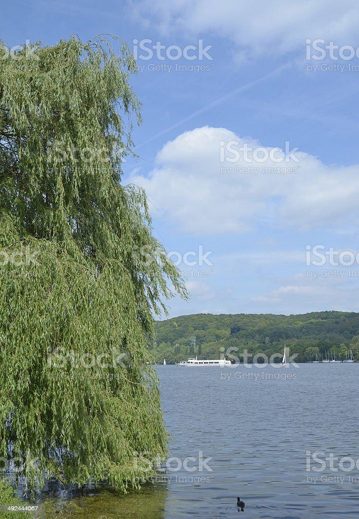 Baldeneysee,Essen,Ruhrgebiet,Germany stock photo
