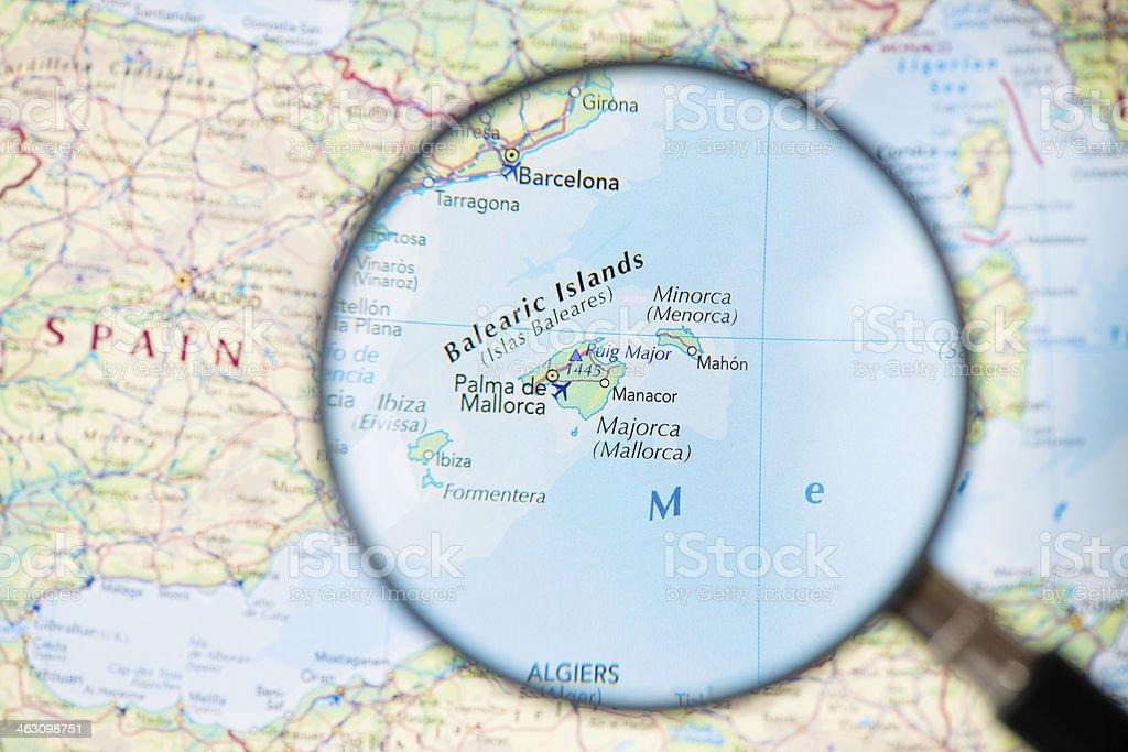 Balearic Islands royalty-free stock photo