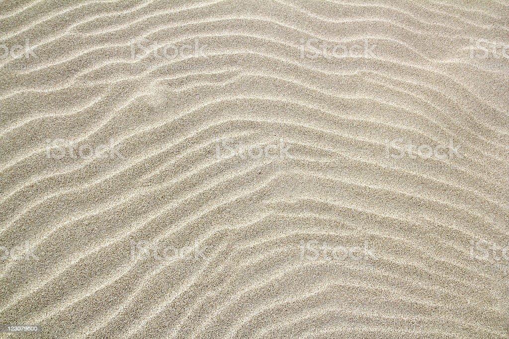 balearic islands wavy sand waves pattern stock photo