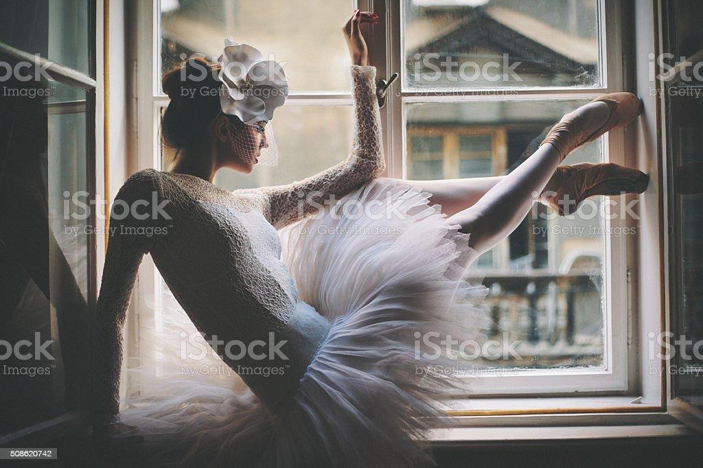 Balerina stock photo