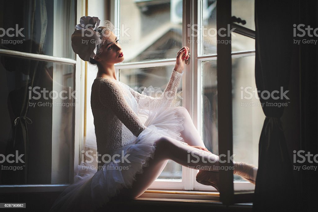 Balerina stock photo