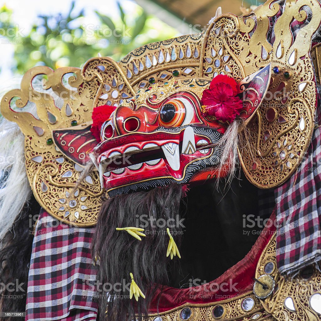 Bali Barong Dance stock photo