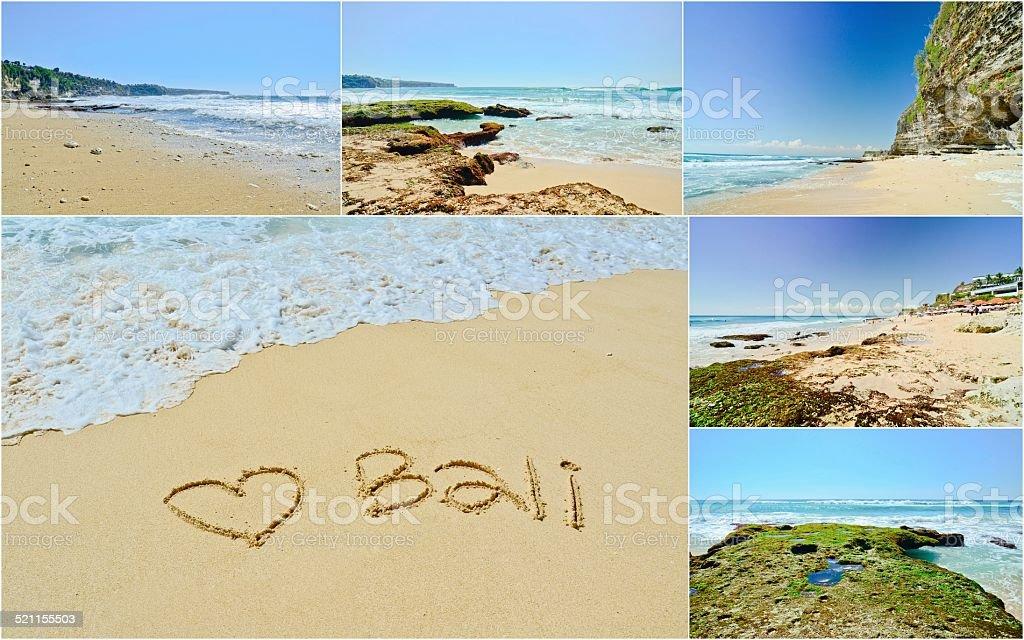 Bali beach, Indonesia stock photo