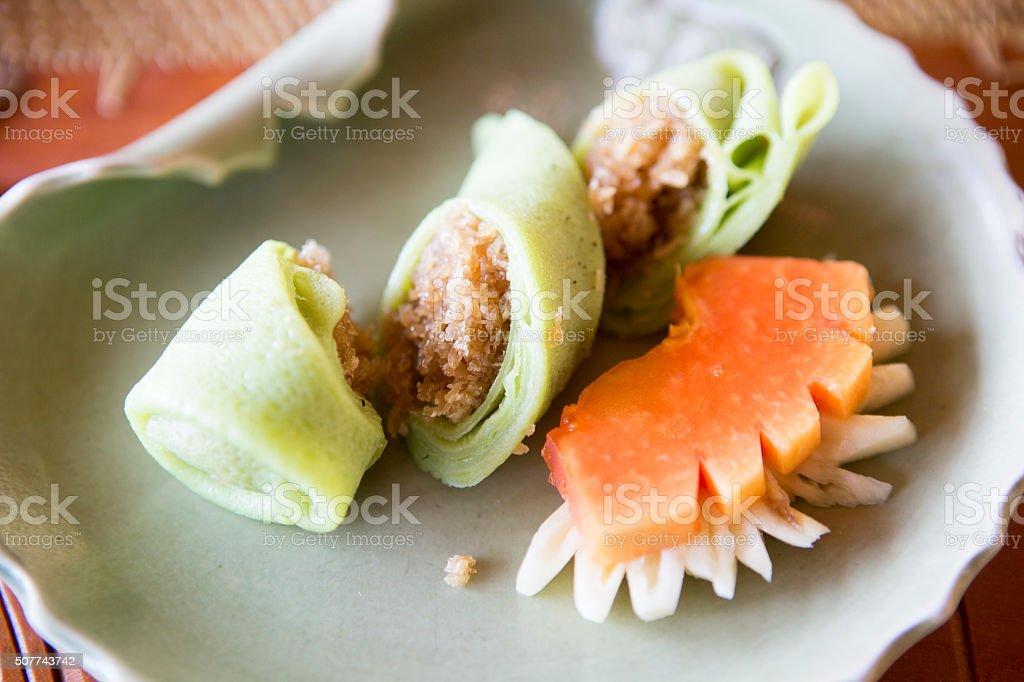 Bali food stock photo