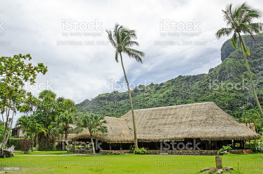 Bali Hai Resort Moorea royalty-free stock photo