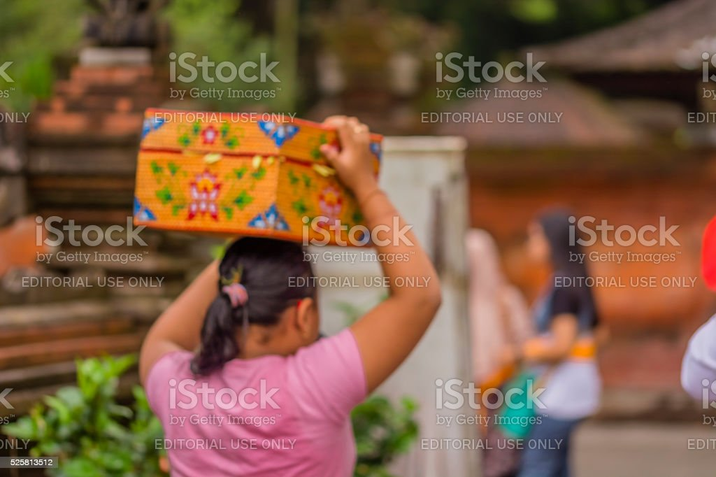 Bali local stock photo
