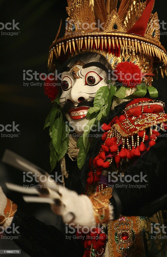 Bali Mask stock photo