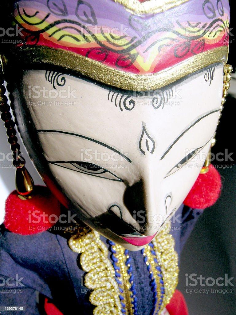 Bali Puppet royalty-free stock photo