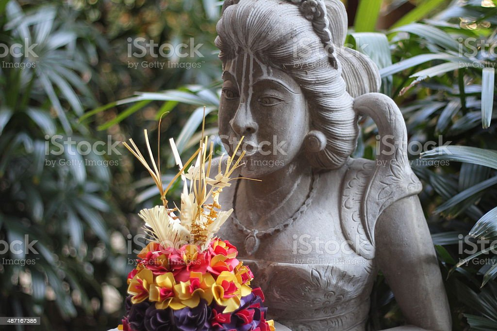 statua bali 1 stock photo