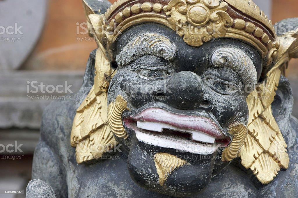 Bali Statue stock photo