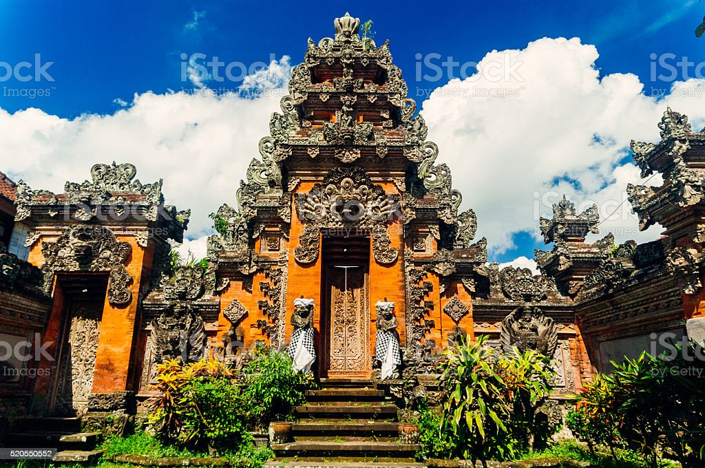Bali Temple, Indonesia stock photo