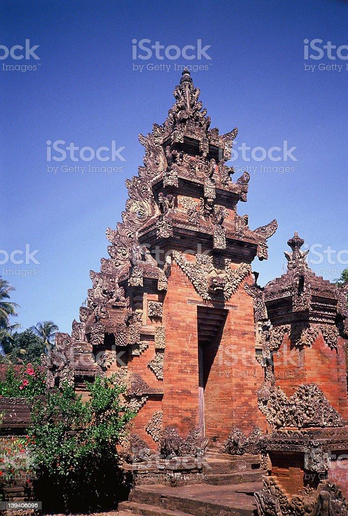 Bali Temple royalty-free stock photo